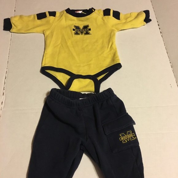 Matching Sets University Of Michigan Baby Outfit 69 Months Poshmark